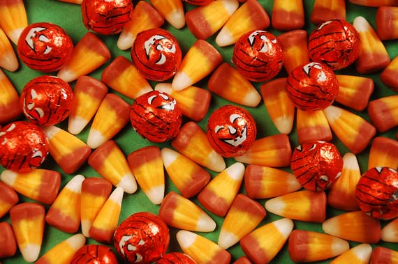 The Colourful Candy Corn Day