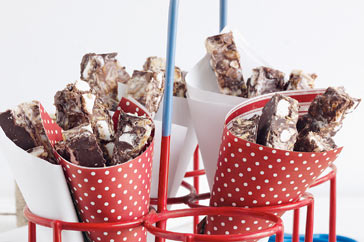 chocolate swirl rocky road