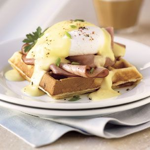 Christmas brunch - Eggs benedict