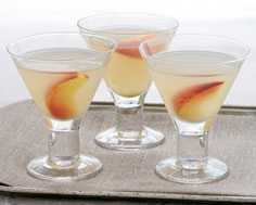 Greaves Ginger Rhubarb Martini