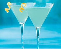 Ice Blue Martini