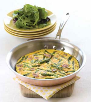 Ham Frittata for Boxing Day