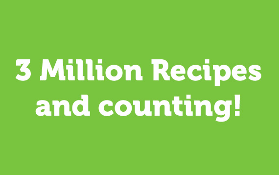 3 Million Recipes