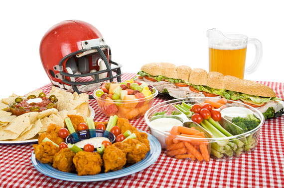 The perfect Super bowl feast
