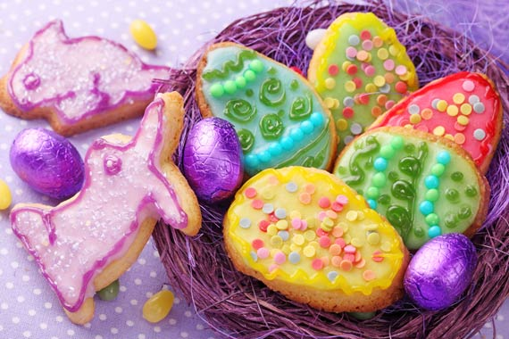 Easter treats and cookies