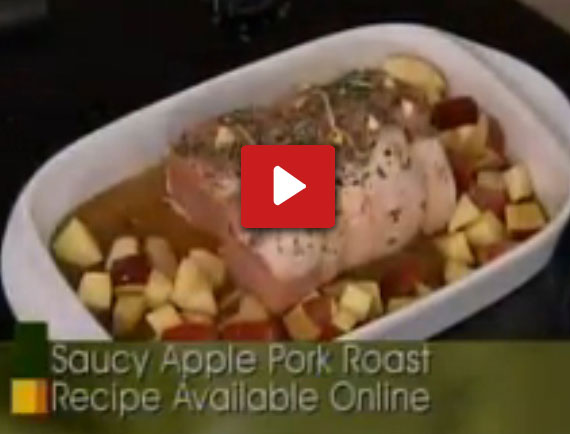 Apple pork recipe