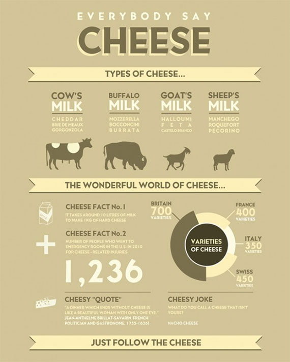 Following My Cheese