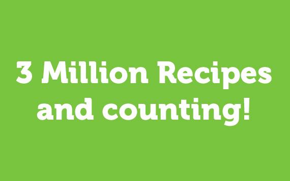 3 Million Recipes